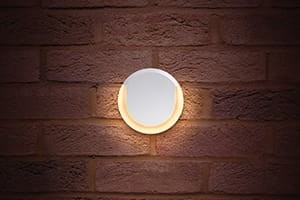 Lunox Wall Light 8W 3000K 380lm IP54 biały
