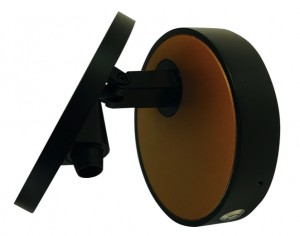 ECLIPSE 6W DIM MATT BLACK/GOLD